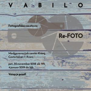 Re-FOTO vabilo