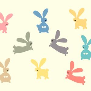 Zajčki maskote